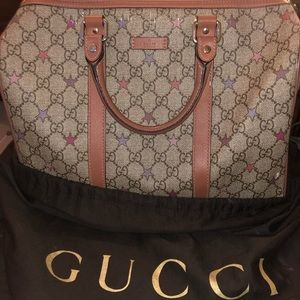 Authentic Star Gucci Bag.